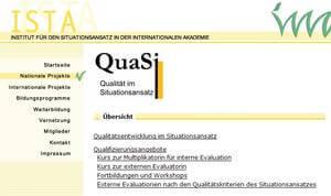 Quasi - Kriterien zur Erfassung der pädagogischen Qualität in Tageseinrichtungen