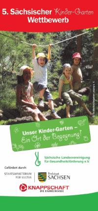 5. Sächsischer Kinder-Garten-Wettbewerb: 30 Kitas wurden prämiert